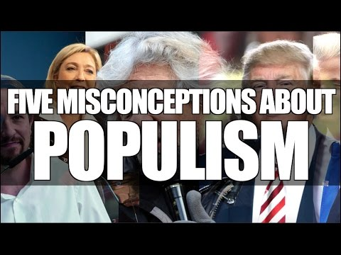 Five Misconceptions About Populism