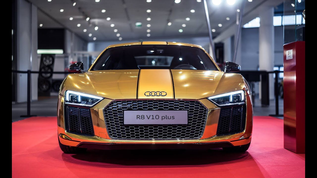Auto Expo Audi R V Plus Launched In India YouTube - Audi car r8 price in india