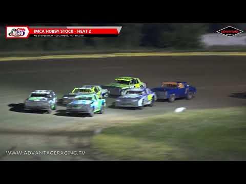 Hobby Stock Heats - US 30 Speedway - 9/13/19