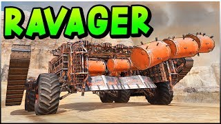 Crossout - THE RAVAGER! Beastly Triple Porcupine Build (Crossout Gameplay)