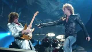 Bon Jovi-Wanted Dead Or Alive Lyrics