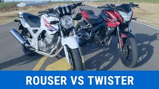 ROUSER NS200 VS TWISTER 250