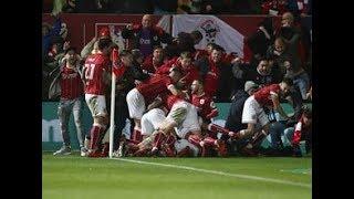 Korey Smith goal vs Manchester united with titanic music Bristol city 2-1 manchester united