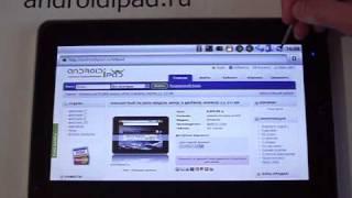 androidipad.ru - Обзор планшетного ПК Zenithink ZT-180(Обзор планшетника Zenithink ZT-180 на ОС Android 2.1 от интернет-магазина http://androidipad.ru. Воспроизведение аудио и видео..., 2010-12-20T13:42:35.000Z)