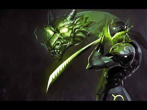 Overwatch - Genji retourne le dragon. - YouTube