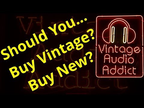 Should You Buy Vintage Stereo Or New Audio Equipment? Helping You Decide!