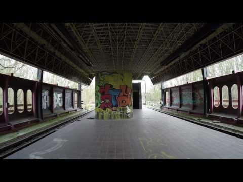Métro Léger Charleroi ghost subway station Belgium February 2017