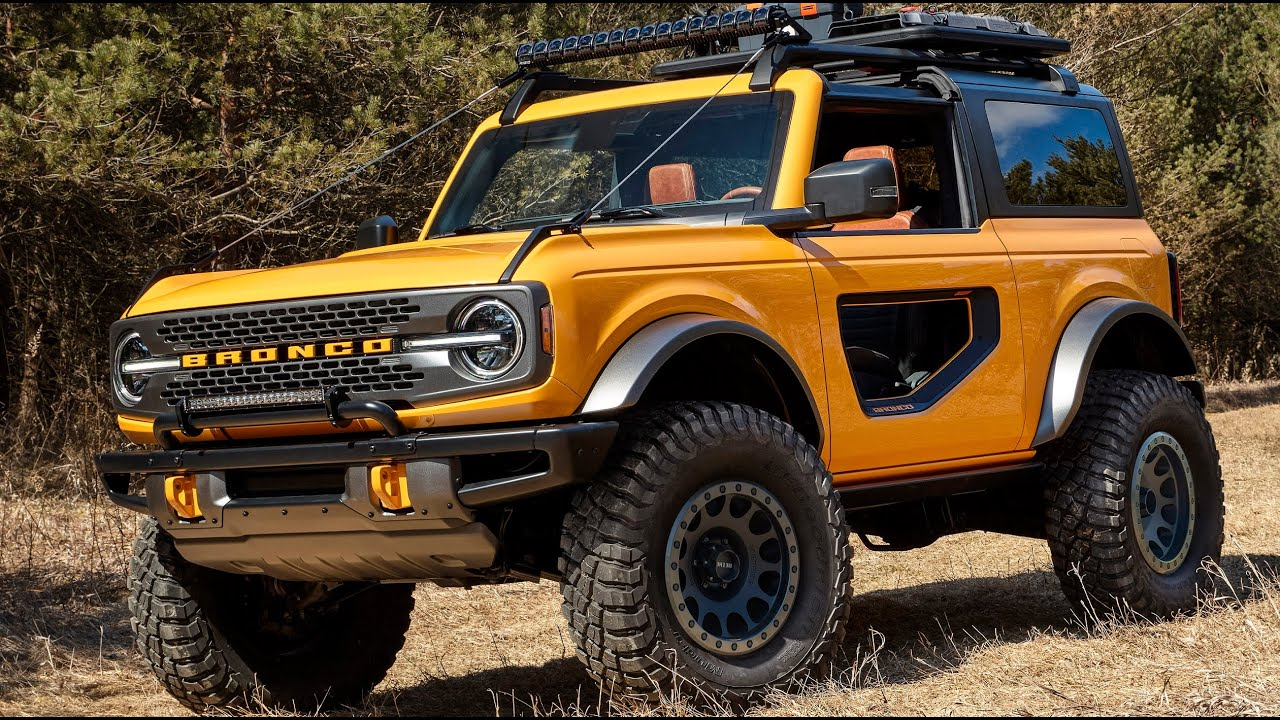 2020 FORD BRONCO TWO DOOR Interior Exterior Official TVC ...