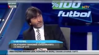 galatasaray 3 0 eskişehirspor 8 şubat 2014 100 futbol rıdvan dilmen gltekin onay