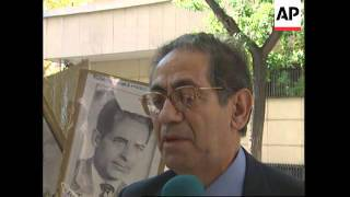 SPAIN: NATION REMEMBERS THE ARGENTINEAN 1976-1983 DIRTY WAR