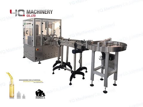 Cartoning Machine For 10 Bottles Chubby Gorilla Box Packaging Machine With  Laying Down System