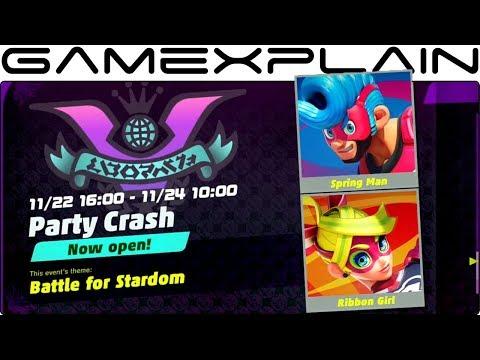 ARMS Party Crash Gameplay