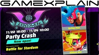 ARMS Party Crash Gameplay 2017 Video