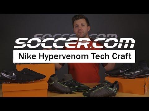 b14318e9d96 Tech Talk  Nike Hypervenom Tech Craft - YouTube