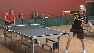 Сергей ХОМУТОВ - Александр МОРОЗОВ (3 МЕСТО) Настольный теннис, Table Tennis