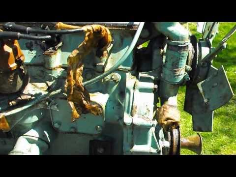 Military Land Rover Engine
