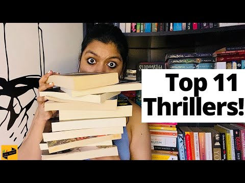 Top 11 (more) THRILLER book recommendations | Must read thriller books | Crime | Mystery | Dark