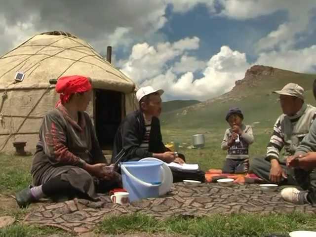 Путь кочевья - пастбищные комитеты в Кыргызстане