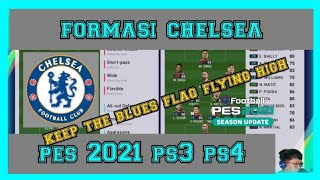 Formasi CHELSEA PES 2021 PS3 PS4 By Sito 14 Beserta Gameplay
