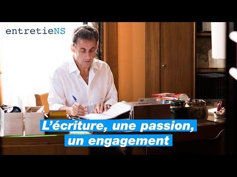 EntretieNS #1 - Nicolas Sarkozy - l'Ecriture