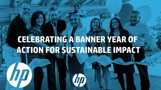 HP Sustainable Impact 2019 Highlights | Sustainable Impact | HP