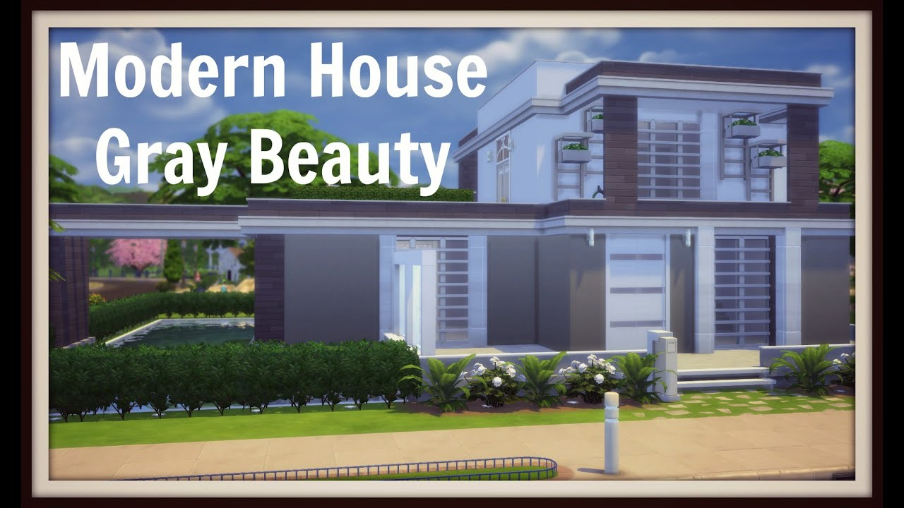 Modern house sims 3 no cc House interior