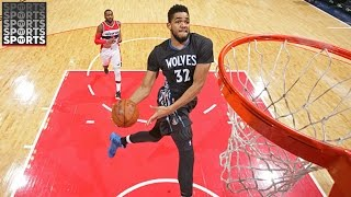 Watch Karl-Anthony Towns Dominate Middle School Basketball