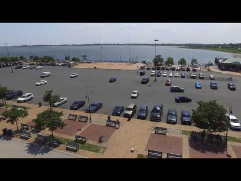 Amazing View of Canarsie Piers in Brooklyn NY