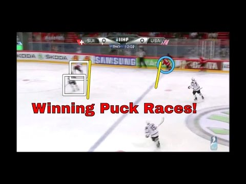 Puck Races - Getting the First Touch