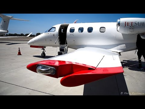 JetSuite Phenom 100 Flight - KVNY to KCRQ (with ATC/Cockpit View)