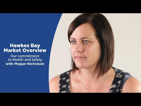 Health and Safety New Zealand - Hawke's Bay Market Overview with Megan Nicholson