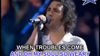 YOU RAISE ME UP (JOSH GROBAN KARAOKE original key)