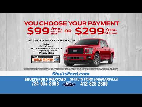 Lease a 2018 Ford F-150 for no money down!