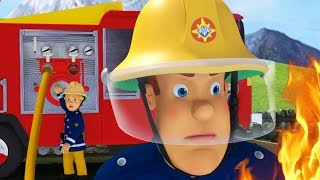 Fireman Sam US New Episodes | Snow Storm Alarm | Compilation 🚒 🔥 Cartoon for Children