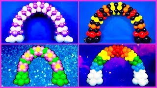 Mini Balloon Arches! Party Decoration Idea