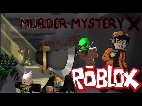 The FGN Crew Plays: ROBLOX - Murder Mystery X