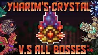 Yharim's Crystal V.S (Almost) All Bosses in Revengeance Mode!  Terraria -  Calamity mod