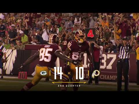 Sounds of the Game: Redskins vs. Packers