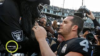 'The Black Hole' turned on Derek Carr at the Raiders' last game in Oakland | Outside the Lines