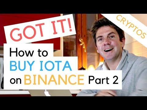 How To Buy IOTA - Part 2 - Exchange Bitcoin For IOTA And Cardano On Binance