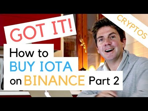 How to Buy IOTA - Part 2 - Exchange Bitcoin for IOTA and Cardano on Binance
