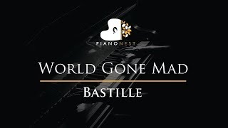 Bastille World Gone Mad Piano Karaoke Sing Along Cover With Lyrics