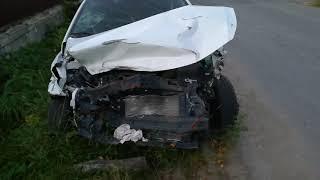 Жесть Hyundai Solaris не сработали подушки airbag  Tough the airbag didn t open in new car.