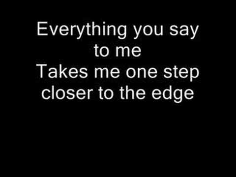 Linkin Park One Step Closer Lyrics Youtube