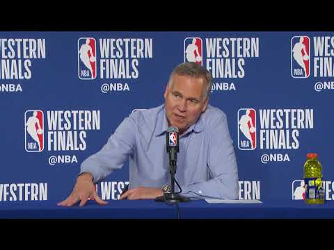 Mike D'Antoni Postgame Press Conference | Warriors vs Rockets Game 3 | May 20, 2018
