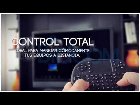 Mini Teclado Inalámbrico para Smart TV