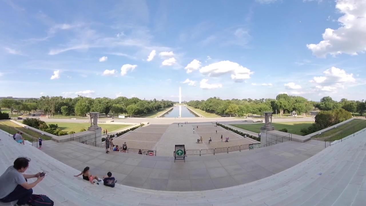 Мемориал Линкольна #voa360