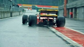 1989 Ferrari F1-89 ex Gerhard Berger - EPIC V12 SOUNDS!