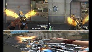 Crossfire NA Gatling Gun Infernal Dragon (VIP)(CF China) FULL SET GLORIOUS PHOENIX (M4A1+D.E)By Pho