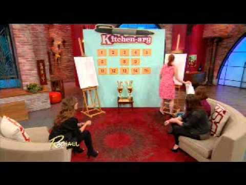 Rachael Ray show- Kitchen-ary segment May 1  